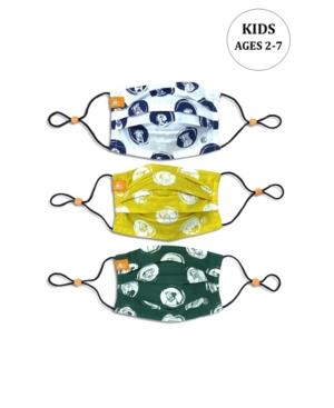 x Best Friends Unisex Kids Dog Sketch Pleated Reversible Mask