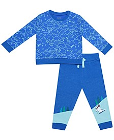 earth by Organic Baby Boy 2-Piece Noah Pant Set
