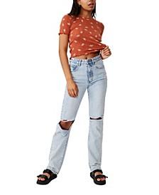 Women's Little Sister Pointelle T-Shirt
