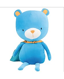 Baby Boys and Girls Bear Plush Doll with Cape