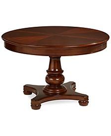 Bordeaux Pedestal Round Expandable Dining Table