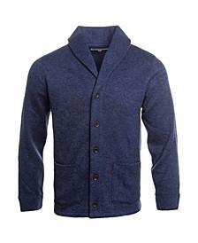 Men's Sweater Knit Fleece Cardigan