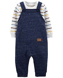 Baby Boys 2-Piece Tee and Coverall Set