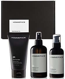 Men's 3-Step Daily Skincare Trio Gift Set