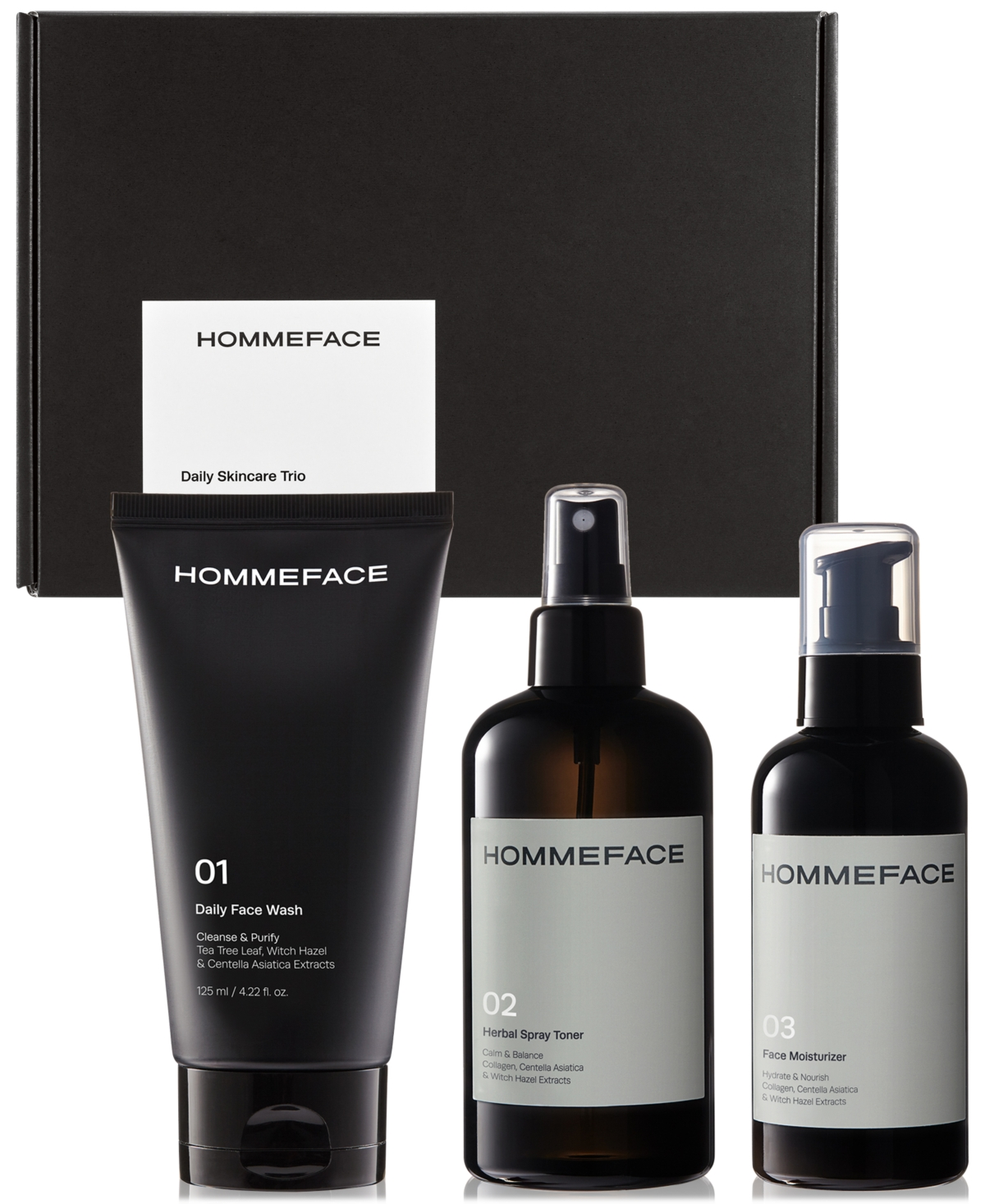 Men's 3-Step Daily Skincare Trio Gift Set