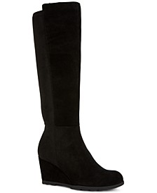 Step 'N Flex Obryy Wedge Boots, Created for Macy's