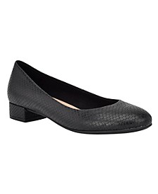Bell Low Heeled Women's Pump