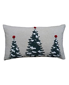 """14"""" L x 24"""" W Christmas Throw Pillow for Couch"""