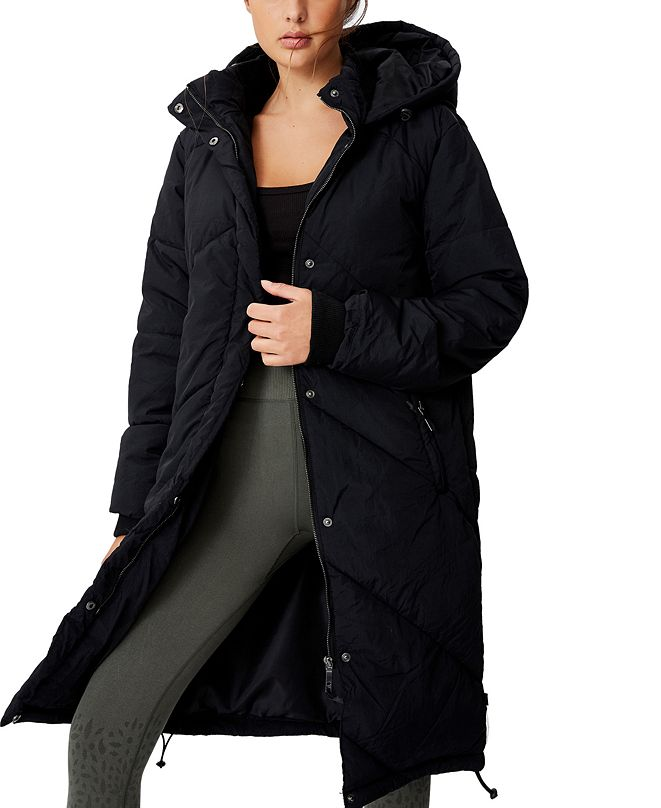 COTTON ON Women's The Mother Longline Puffer Jacket