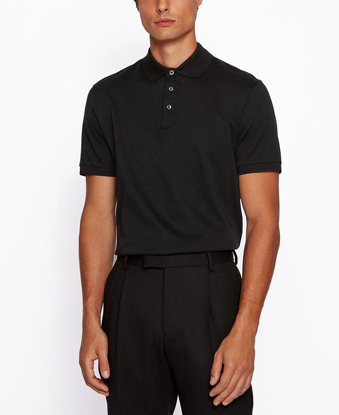 Hugo Boss - Men's T-Perry 14 Regular-Fit Polo Shirt