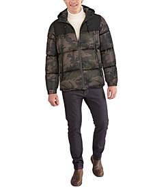Men's Hooded Colorblocked Jacket