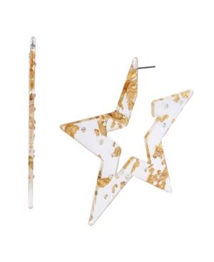 Celestial Star Hoop Earrings