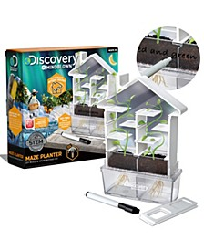 Discovery MindBlown Kids DIY Maze Planter- STEM