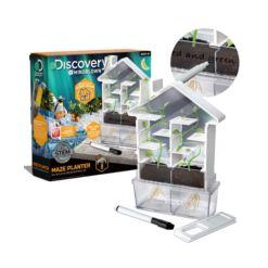 Discovery MindBlown Kids Diy Maze Planter- Stem