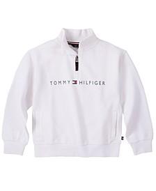 Big Girls Embroidered Half Zip Fleece Pullover