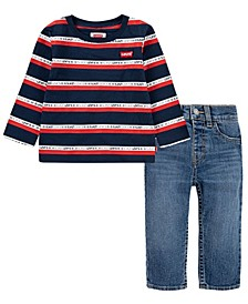 Baby Boys Denim Set