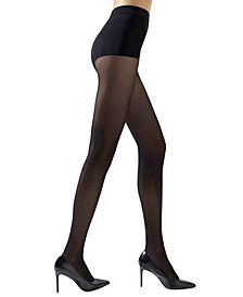 Women's Soft Suede Opaque Tights Hosiery