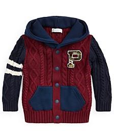 Ralph Lauren Baby Boys Hybrid Hoodie Sweater