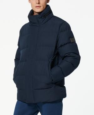 Stratus Men's Down Jacket with Hidden Hood