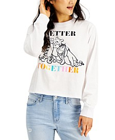 Mighty Fine Juniors' Disney Winnie the Pooh Long Sleeve Tee