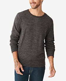 Men's Plaited Crew Sweater