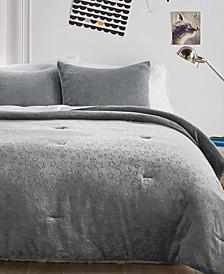 Star Plush Comforter Set, Full