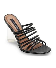 Women's Paisley Strappy Sandal