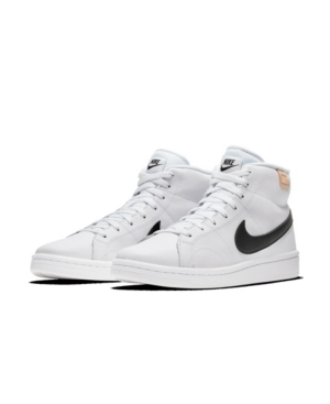 Nike High tops MEN'S COURT ROYALE 2 MID HIGH TOP CASUAL SNEAKERS FROM FINISH LINE