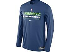 Men's Minnesota Timberwolves Practice Long-Sleeve T-Shirt