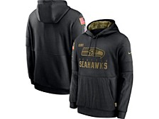 Seattle Seahawks Youth Salute To Service Therma Hoodie