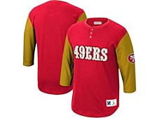 Men's San Francisco 49ers Franchise Player Henley Shirt