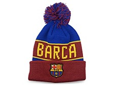 FC Barcelona Soccer Club Team Bench Warmer Knit