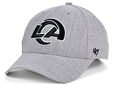Los Angeles Rams Heathered Black White MVP Cap