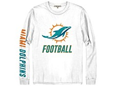 Miami Dolphins Men's Zone Read Long Sleeve T-Shirt