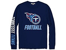 Tennessee Titans Men's Zone Read Long Sleeve T-Shirt