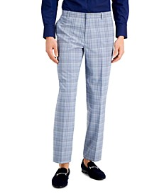 INC Men's Luis Slim-Fit Plaid Pants, Created for Macy's
