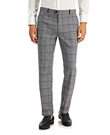 INC Men's Slim-Fit Carter Cuffed Hem Pants, Created for Macy's