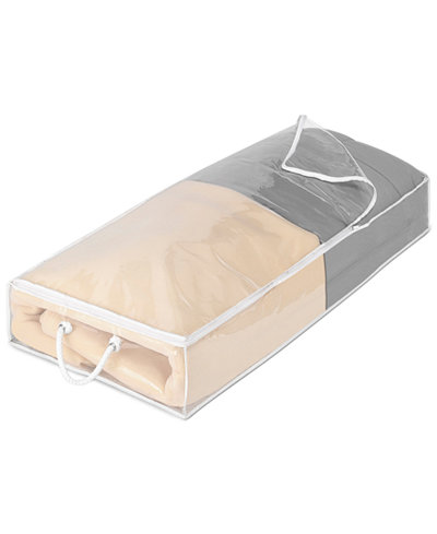 Whitmor Jumbo Clear Under-the-Bed Storage Bag