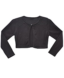 Toddler Long Sleeve Embellished Fly Away Cardigan