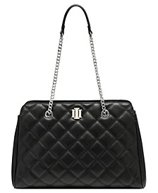 INC Jehnna Quilted Satchel, Created for Macy's