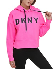 Sport Logo Cropped Hoodie, Created for Macy's