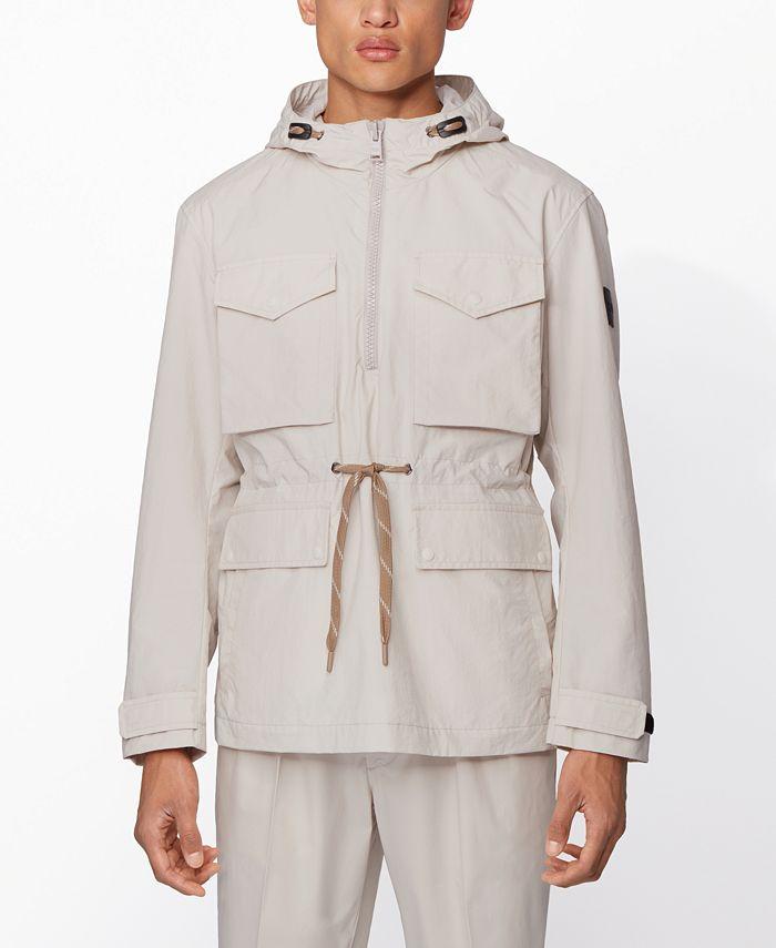 Hugo Boss - Men's Ceras Regular-Fit Hooded Jacket