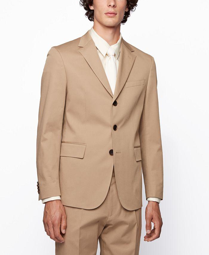 Hugo Boss - Men's Christof2/Pristo2 Slim-Fit Suit
