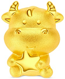 Year of the Ox Pendant in 24k Gold