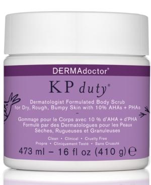 Kp Duty Dermatologist Formulated Body Scrub For Dry