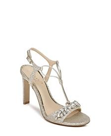 Women's Peaches High Heel Evening Sandal