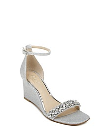 Women's Peggy Wedge Evening Sandal