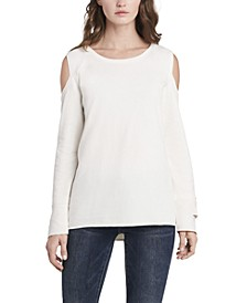 Women's Cold Shoulder Sweatshirt