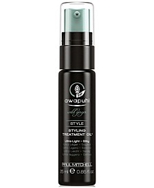 Awapuhi Wild Ginger Styling Treatment Oil, 0.85-oz., from PUREBEAUTY Salon & Spa