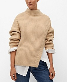 Women's Cut-Out Knitted Sweater